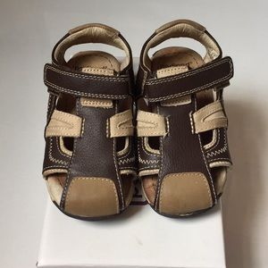 Pediped brown sandals